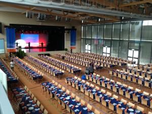 Stadthalle Blaufelden (mit Tänzerinnen!)