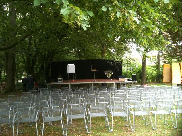 Die Bühne im Vierjahreszeitenpark