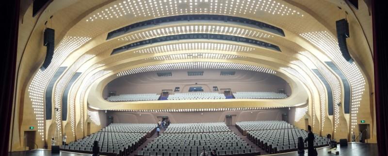 Und das Theater Nanjing von innen!