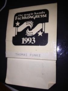 Thomas Funkes Ausweis