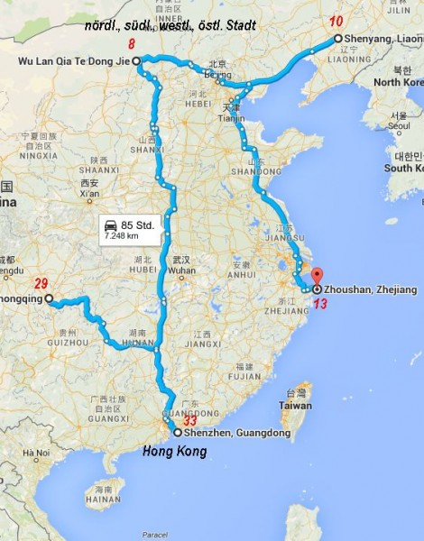 Timothy Trust, Topas und Diamond in China